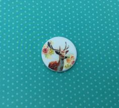 Needle minder, Cross stitch, Crossstitch, Deer, Stag, Needle Nanny, Sewing accessory, Magnetic Needleminder Needlepoint, Needlework Gift by DaintyDotsDecoupage on Etsy