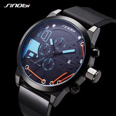 Watches Top Luxury Brand Men Sport Silicone Mesh Strap Business Watches Mens Quartz Date Clock Men Wrist Watch Relogio Masculino Vivid And Great In Style Digital Watches