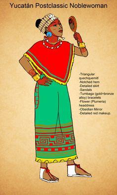 Postclassic Maya of Yucatan Noblewoman by Kamazotz on DeviantArt