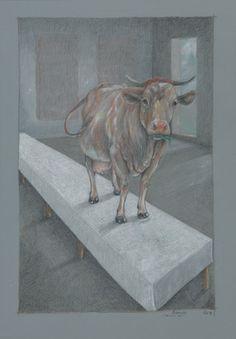 "Saatchi Art Artist Otto Reinebeck; New Media, ""Resteessen (Remember April)"" #art"
