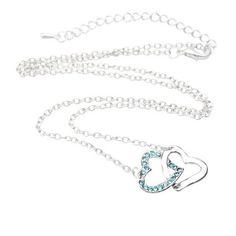 BARGAIN Womdee Heart to Heart Crystal Rhinestone Pendant JUST £0.79 At Amazon - Gratisfaction UK Flash Bargains #flashbargains #gratfashion