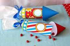 Rocket ship party favors #rocket #partyfavors