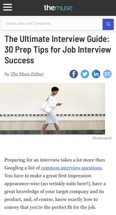Interview Guide, Common Interview Questions, Interview Preparation, Tiffin Box, Are You Happy, All About Time, Success, Tips, Counseling