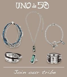 These earthy yet edgy designs by Uno de 50 are taking the store by storm this fall!!! #silver jewelry #unode50