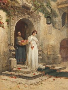AUS GUSTAV DER OHE bride on the courtyard