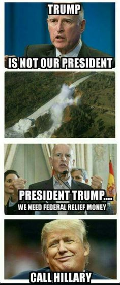 Another Pinner said: Lefty Gov. Brown(spot), Socialist-Commie Sympathizer Hypocrite