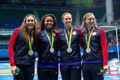 With Katie Ledecky Added to Mix, U.S. Relay Wins Silver - NYTimes.com