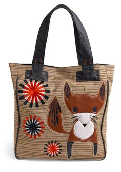 think inside the fox tote via modcloth