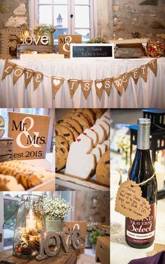 Castle Farms Wedding October 2015 Photos by Melissa Bernazzani, http://www.melissabphotos.com second shooter for Leah Renee Photography http://leahreneephotography.com Castle Farms Wedding Oct 2015, Charlevoix, Michigan #michiganweddings #castlefarms #upnorth #weddings #weddingideas #weddingphotography #weddingreception #receptionideas #cookietable #mrandmrs #michigancookie