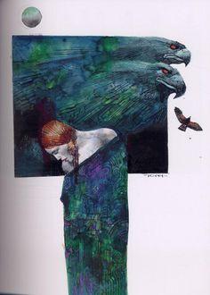 sergio toppi art | Nibelungica - (Sergio Toppi) - Art-illustration [BDNET.COM]