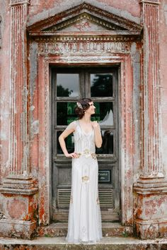 Glamorous 1920's style wedding dress - Lisa Dawn Photography