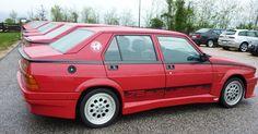 Alfa Romeo 75 Turbo Evoluzione inte vacker men dom går för jäv.. bra ;)