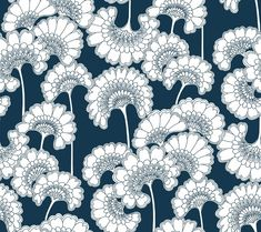 Japanese Floral York Wallpaper Wallpaper York Wallcoverings Blues Asian Wallpaper Floral & Plants Wallpaper Flower Power Wallpaper, Heavy Weight Paper, Easy to clean , Easy to wash, Easy to strip Asian Wallpaper, Textured Wallpaper, Wallpaper Roll, Chic Wallpaper, Bird Wallpaper, Bathroom Wallpaper, Kate Spade Wallpaper, Motifs Textiles, Florence Broadhurst
