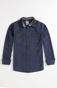 Modern Amusement El Paso Long Sleeve Woven Shirt