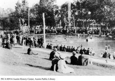 What started as a swimming hole is now the oldest swimming pool in Texas. The City purchased it from owner/creator A.J. Eilers, Sr. in 1935....