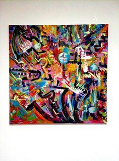 l'Astrazione in un dipinto Astratto Quando guardo un paesaggio astratto di un dipinto contemporaneo perche' definisco questo o quel dipinto come astratto?