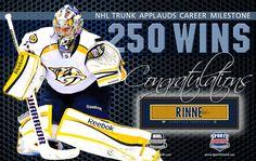 Pekka Rinne, Nashville Predators • December 13, 2016 • NHLTrunk.com