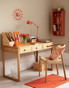 43 Old, Retro, Vintage And Charming Home Offices Possible ideas for converting the nursery into an office?