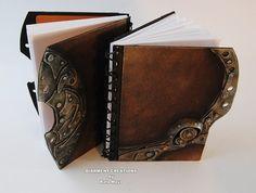 steampunk notebooks from Rafa Maya of Diarment Creations