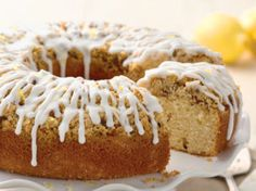 Lemon Streusel Coffeecake