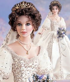 Franklin Mint Faberge Imperial Russia Bride Doll | eBay