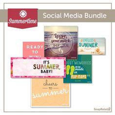Download FREE #summer social posts and cover photos: http://www.snapretail.com/resources/bundles/summer-social-posts?utm_campaign=2014contentmarketingutm_source=srutm_medium=pinterestutm_content=bundle_summersocialposts