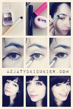 THE NEW CAT EYE! -- Asian puppy eye make up -
