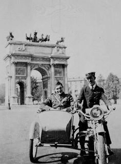 A young Ernest Hemmingway in Paris.