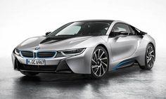 BMW #i8. La supercar sportiva ed elettrica della casa tedesca.