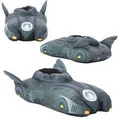DC Comics Batman Batmobile Slippers