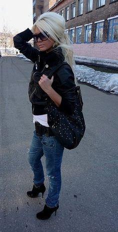 this look is soo hot. ♥