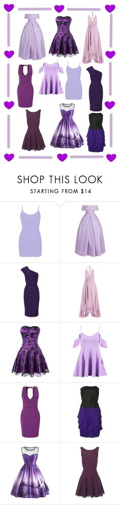 """""""Purple Dress Shopping"""" by diesle99 ❤ liked on Polyvore featuring BKE, Naeem Khan, Roland Mouret, Loup Charmant, Boohoo, Miss Selfridge, Reiss, Alaïa, contestentry and polyPresents"""