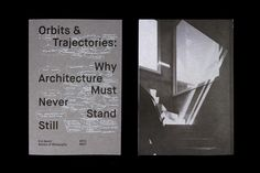 DSDHA Architects print designed by Spin.