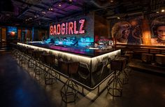 Restaurant & Bar Design Awards Shortlist 2015: Nightclub - Restaurant & Bar Design