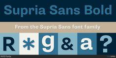 Fontspring   Supria Sans Fonts by HVD Fonts