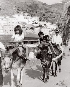 Greece still retaining the glamour and grandeur that has lured aristocrats and tycoons for decades. Photograph courtesy of  Lee Radziwill.