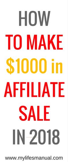 Are you looking for ways to increase you affiliate sale in 2018? Or maybe you wanted to start with affiliate marketing to increase your blog income. #blogging #affiliatemar (aff link)