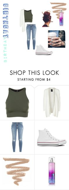 """""""birthday"""" by dreamstyle21 on Polyvore featuring Onzie, Minimum, Frame Denim, Converse and Floss Gloss"""