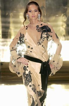Jean Louis Scherrer at Couture Fall