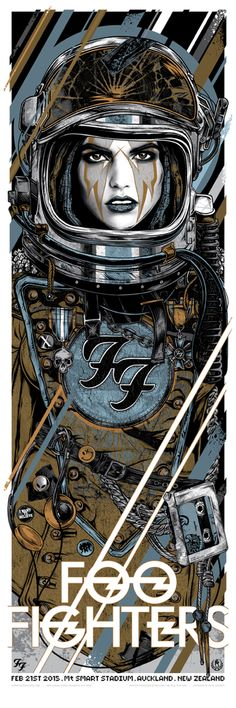 Foo Fighters - Rhys Cooper - 2015 ----