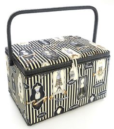 Dritz Sewing Basket Medium Rectangle-Cat | Sew with JOANN ...