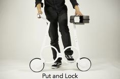 Impossible by Impossible Technology — Kickstarter.  A folding electric bike that weighs less than 5KG and can fit into a backpack.