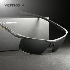 Buy VEITHDIA Men s Polarized Sunglasses Aluminum Magnesium Mirror driving  Sun Glasses Masculino Oculos Eyewear For Men shades 6588 e5ccaa58ab