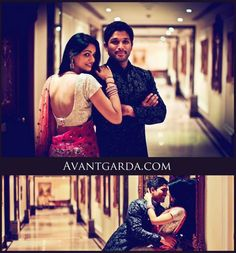 allu arjun - sneha reddy exclusive photoshoot