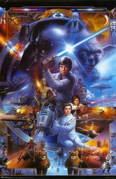 Star Wars – Saga Collage