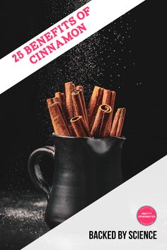 Cinnamon is more than just tasty, it also has a myriad of health benefits backed by science! Check them out!