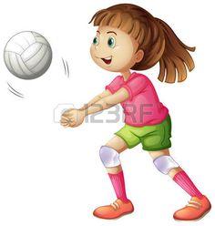 Nenas de volley 6 - 3 part 1