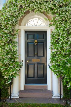 hueandeyephotography:  Door with Confederate Jasmine Vines, Charleston, SC © Doug Hickok  All Rights Reserved hue and eye the peacock's hiccup