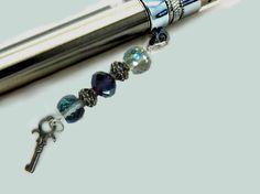 Bling Key Vapor Charm  E Cigarette Charm  Vapor by FlutterbyCharms