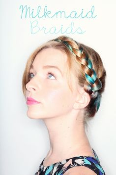 Milkmaid Braids Hair Tutorial